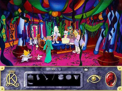 kings quest 7 screen shot