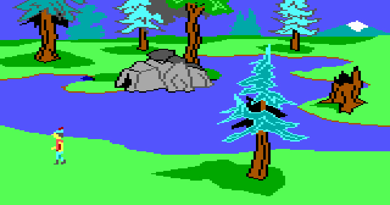 kings quest ii screen shot 2