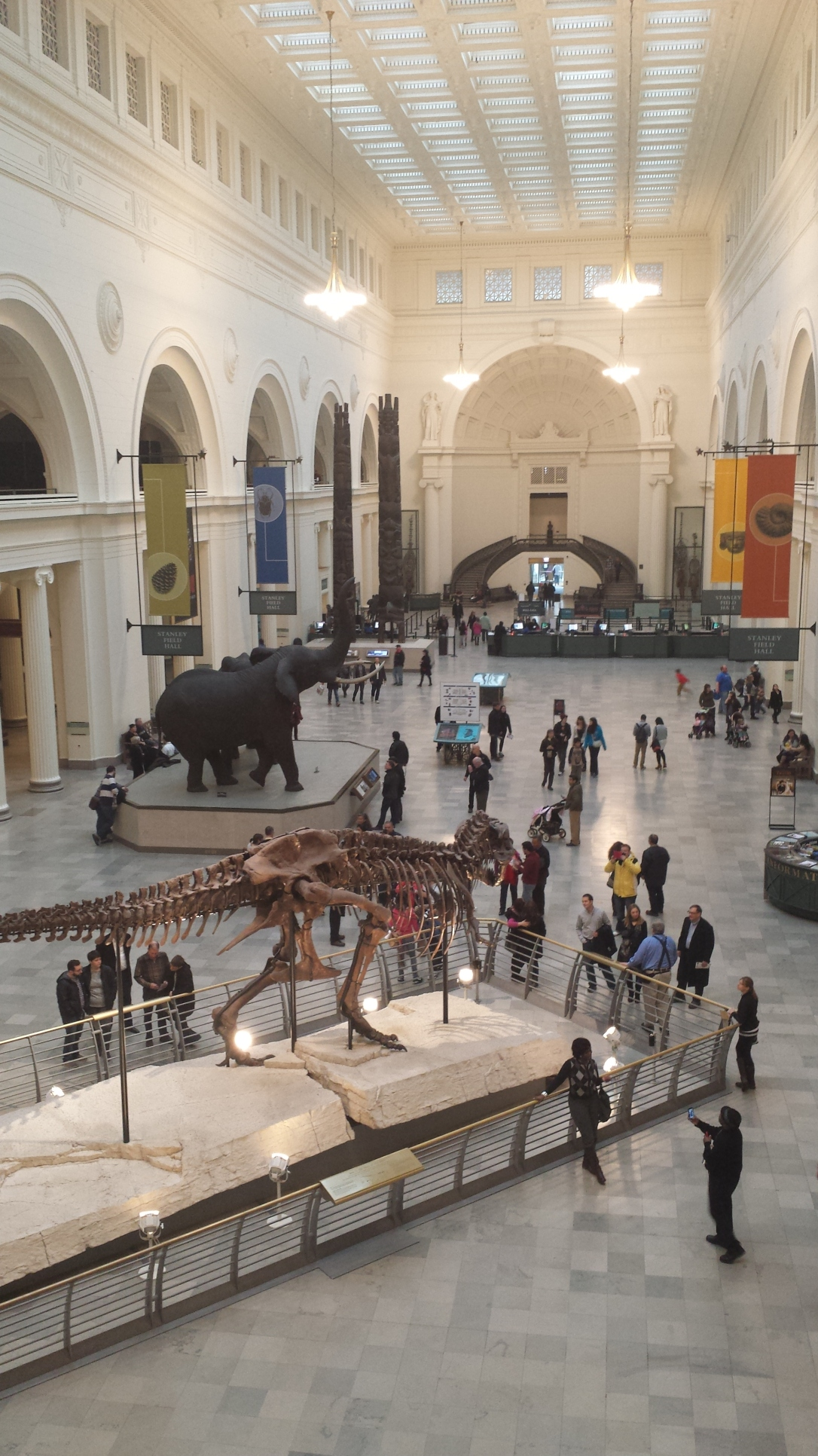Chicago Field Museum, entrance hall
