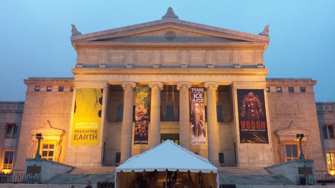 Chicago Field Museum, exterior