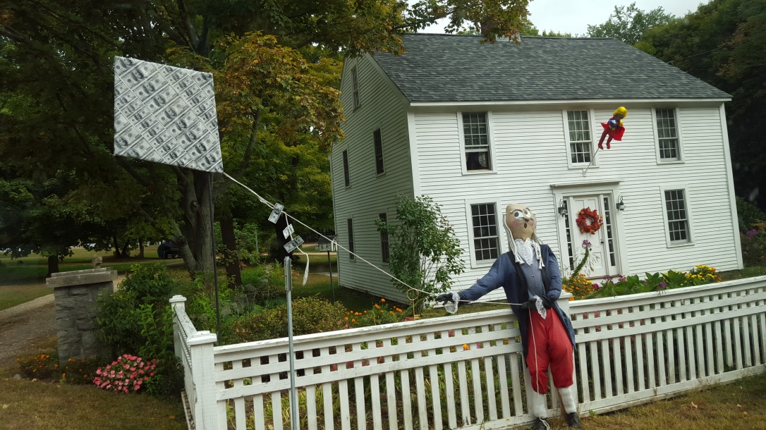 New Hampshire scarecrow