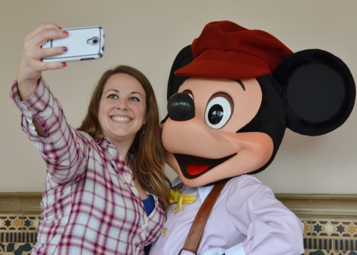 Selfie with Mickey